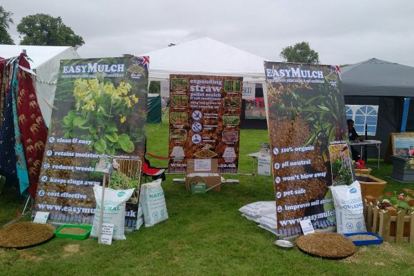 easyMulch are at the Stratford Home & Garden Show