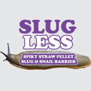 SLUGLESS - Spiky Straw Pellet Slug & Snail Barrier made from Organic British Straw. SlugLess creates a dry, spiky protective surface which deters slugs and snails.
